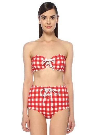 Marysia Bikini Üst Kırmızı